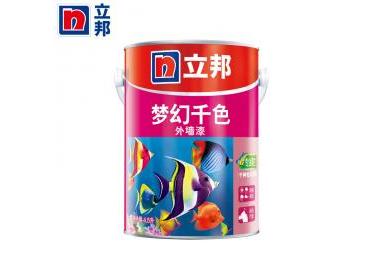 立邦漆 梦幻千色A4 外墙乳胶漆4.5L 防霉防水